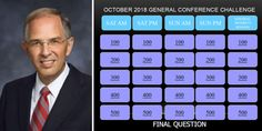 Elder Neil L. Andersen Shares His Family's General Conference Review Game Lds Church, Church Ideas, Primary Singing Time, Family Home Evening, Review Games, General Conference, Relief Society, Latter Day Saints, Jesus Christ