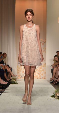lauren conrad runway - fox print dress