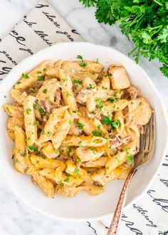 This Crack Chicken Penne is super creamy cheesy loaded with bacon and all done in one pot! We're talking chicken pasta cheese and bacon you can't go wrong! Chicken Penne Recipes, Cheesy Chicken Pasta, Crack Chicken, Chicken Pasta Casserole, Pasta Dishes, Food Dishes, Main Dishes, Food Food, Side Dishes