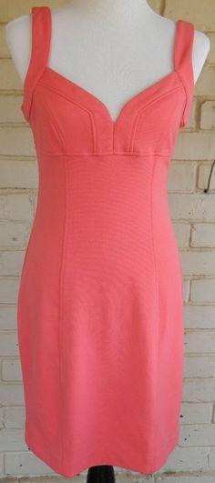BB Dakota Pink Sleeveless Bustier Wiggle Dress Size M #BBDakota #WigglePencil #Casual