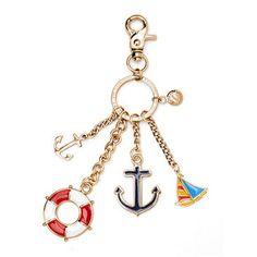 $29 Nautical Handbag Charm & Keyring - Aspinal of London