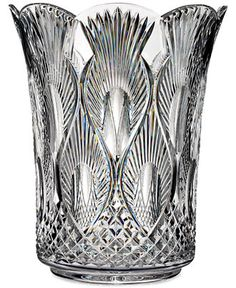 House of Waterford Crystal Peacock 12 Vase - Bowls & Vases - For The Home - Macy's