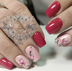 """1,480 Likes, 12 Comments - Лучшие идеи маникюра!  (@nails_page__) on Instagram: """"➡ @nail_marina_disign"""""""
