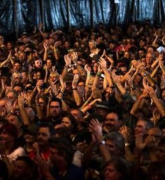 Byron Bay Bluesfest 2015 review: Big, wet and with something for everyone John Mayall had the crowd on their feet.