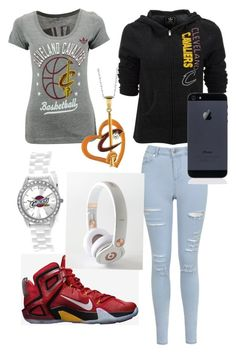 """cleveland Cavaliers"" by fashionista2214 ❤ liked on Polyvore"