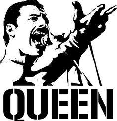 Freddy Mercury ('The Queen') Face Stencils, Stencil Art, Airbrush, Shadow Painting, Art Diy, Wood Burning Patterns, Stencil Patterns, Scroll Saw Patterns, Arte Pop