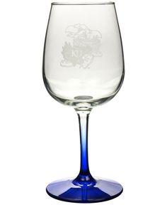 Boelter Brands Kansas Jayhawks 12 oz. Wine Glass