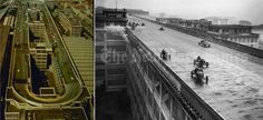 Lingotto Factory -Avant-garde car factory with test track on the roof- Birth: 1916 Location: Turin, Italy Architect: Mattè Trucco