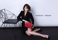 Desire Shelly Suede Clutch by VH