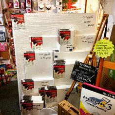 Fancy a challenge? We've just received a big delivery of top quality daler rowney canvas which includes these huge 120cm X 150cm monsters. All on half price. Time to make that huge masterpiece? #dalerrowney #canvas #largecanvas