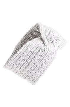 BP. Cable Knit Head Wrap (Juniors)   Nordstrom
