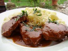 Milánske hovädzie rezne Czech Recipes, Russian Recipes, Ethnic Recipes, No Salt Recipes, Beef Recipes, Cooking Recipes, Modern Food, European Cuisine, Food 52