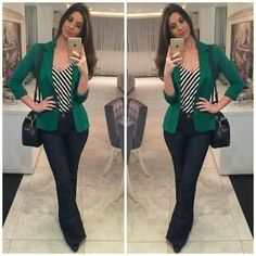 How to rock the casual chic look Work Casual, Casual Chic, Casual Looks, Work Fashion, Fashion Looks, Fashion Outfits, Womens Fashion, Hijab Fashion, Look Office