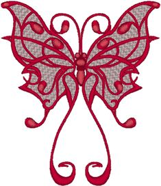 Untapping Creativity: 5 Creative Embroidery Designs for Sewing . Butterfly Embroidery, Hand Embroidery Stitches, Crewel Embroidery, Machine Embroidery Designs, Embroidery Patterns, Stitch Patterns, Tribal Butterfly, Butterfly Pattern, Butterfly Design