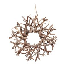 driftwood wreath inspiration only--could do this with manzanita branches