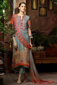 Pashmina Churidar Dress Material