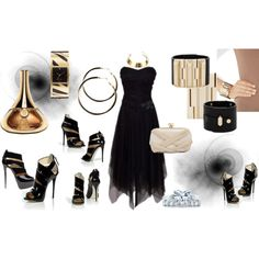 Sexy Black, created by mimi-gan on Polyvore