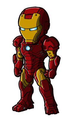 Chibi Movie Iron Man Mk 3 by GuyverC on DeviantArt Avengers Cartoon, Marvel Cartoons, Baby Avengers, Marvel Comics, Chibi Marvel, Marvel Art, Marvel Heroes, Marvel Avengers, Tatoo Manga