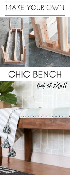 This bench tutorial will knock your socks off.