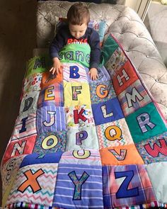 Custom handcrafted Memory Quilts made from loved ones clothes https://www.etsy.com/uk/listing/610420389/custom-memory-quilt-baby-clothes-quilt #memoryquilt #patchworkquilt #personalisedgift