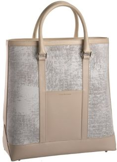 Isaac Mizrahi Chic Tote Gesso Printed Canvas Tote