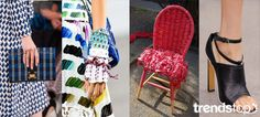 SS 2016 Women's Key Materials, Wovens, Couture Craft Weave, accessories