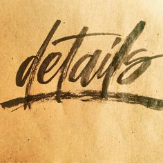 Details - rough imperfect brush lettering on kraft paper. Used a Pentel Color Brush. Brush Font, Brush Lettering, Learning To Let Go, Letting Go, Im Not Perfect, Let It Be, Kraft Paper, Fonts, Instagram