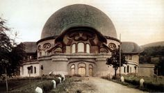 First Goetheanum by Rudolph Steiner