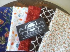 Kids Cloth Napkins School Lunch Box, Set of 5, Eco Friendly, POP of Color Collection, by CHOW with ME by CHOWwithMe on Etsy