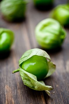 The tomatillo is the base for many of our salsas such as the Salsa Verde and the the Salsa Ranchera.
