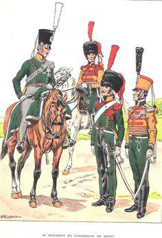 French; 6ème régiment de Chasseurs à Cheval 1ère Restauration, 1814.