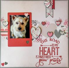 Layout: The Road To My Heart ✿Join 1,500 others and Follow the Scrapbook Pages board. Visit GrannyEnchanted.Com for thousands of digital scrapbook freebies. ✿ Scrapbook Pages Board URL: https://www.pinterest.com/grannyenchanted/scrapbook-pages/