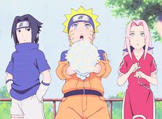 COMPLETE in Ninjas in sasukexoc I don't own naruto I don't own naruto shippuden I don't own any photo A little after Sasuke's birthday, he saw a girl in really expensive kimonos every day when he w Naruto Team 7, Naruto And Sasuke, Gaara, Sasuke Gif, Naruto Anime, Sarada Uchiha, Naruto Cute, Naruto Funny, Naruto Kakashi