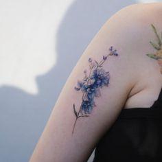 Blue bouquet by Tattooist Flower