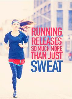 STRESS...run and release it!