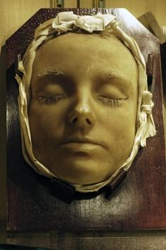 Death Mask of Mary Queen of Scots at Lennoxlove House exclusive use wedding venue in Scotland, photo (c) Donna Dailey from http://www.beyond-london-travel.com/Lennoxlove-House.html