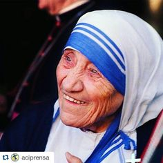 #Repost @aciprensa with @repostapp  #últimominuto #PapaFrancisco canonizará a #MadreTeresadeCalcuta el próximo 4 de septiembre.  Foto: L'Osservatore Romano