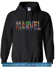 Buy Marvel Comics Characters Hoodie SN This hoodie is Made To Order, one by one printed so we can control the quality. We use newest DTG Technology to print on to Marvel Comics Characters Hoodie SN Moda Marvel, Marvel Comics, Marvel Hoodies, Marvel Sweatshirt, Womens Marvel Shirt, Spiderman Hoodie, Marvel Fashion, Geek Fashion, Lolita Fashion