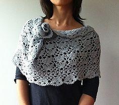 Jennifer - floral lace cowl (oversize version)