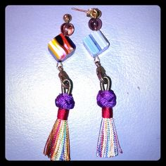 Spotted while shopping on Poshmark: Tassel Earrings!! #poshmark #fashion #shopping #style #Jewelry