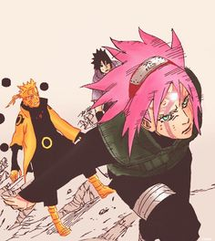 I'll create a distraction. - Sakura trying to be useful.