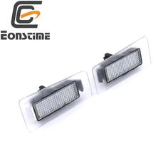 Eonstime 2pcs 6500k LED License Plate Light for Hyundai Elantra 2011~2013 I30 2012~2014 Auto Replacement Rear  Car