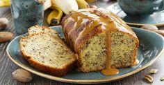 Recette de Banana bread protéiné au caramel light. Facile et rapide à réaliser, goûteuse et diététique. Ingrédients, préparation et recettes associées.