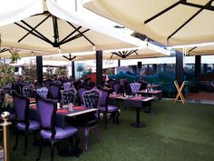 Fancy restaurant over the harbour of Monaco #monaco #restaurant #fancy #harbour