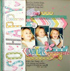 Lovin' Life {Love My Tapes} - Scrapbook.com