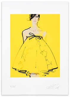 David Downton, Valli, 2008. Limited Edition FIG Print. Signed and numbered by the artist. Price subject to currency exchange rate at the time of ordering. $500.00.
