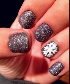 Another one of my winter nails