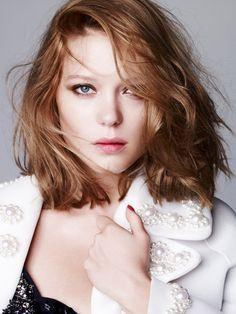 Léa Seydoux angelical beauty