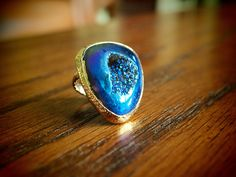 Asymmetrical Brilliant Ring in Midnight  Orig:  $96  SALE:  **$ 29.99**    buy.ephphie@gmail.com