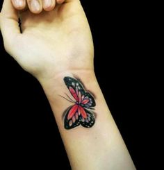 Wrist Tattoos For Girls Designs | Cute Wrist Butterfly Tattoo for Girls